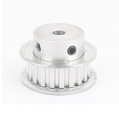 B/&T Tuyau carr/é en aluminium rev/êtu par pulv/érisation
