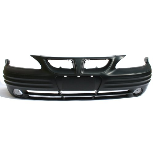 Front Bumper Cover Assembly New Primed w//Fog Hole 352-37157-10-PM GM1000574 22610695 CarPartsDepot