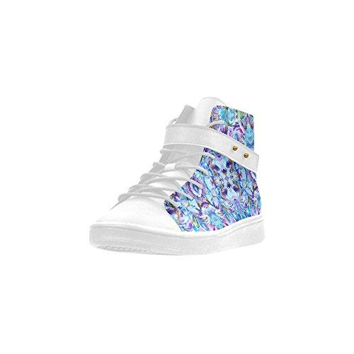 Artsadd Elegant Flower Round Toe Womens Shoes Boost Sneaker Pg84PAn