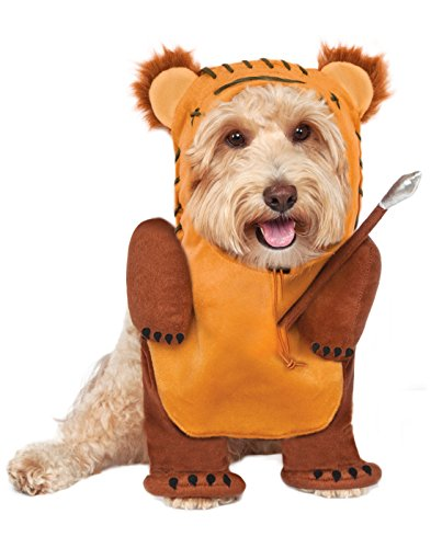 Rubie's Star Wars Running Ewok Pet Costume, (Pets In Star Wars Costumes)