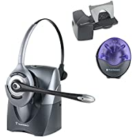 Plantronics CS351n Wireless Headset With Lifter and Online Indicator (Certified Refurbished)