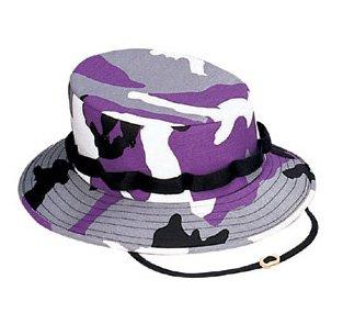 Kids Ultraviolet Camo (ULTRA VIOLET CAMO JUNGLE HATS)