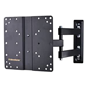 "VideoSecu Articulating Arm LCD LED TV Wall Mount Full Motion Tilt Swivel Mount Bracket for most 22"" 23"" 24"" 26"" 27"" 30"" 32"" 36"" 37"" Flat Screen with VESA 100 200 Mount Pattern B62"