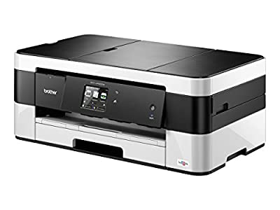 Brother Printer MFCJ4420DW Wireless Color Inkjet All-In-One with Scanner, Copier and Fax Printer, Amazon Dash Replenishment Enabled with ink cartridge