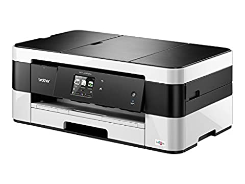 Brother Printer MFCJ4420DW Wireless Color Inkjet All-In-One with Scanner, Copier and Fax Printer, Amazon Dash Replenishment (Laser Printer Copier Fax Scanner)