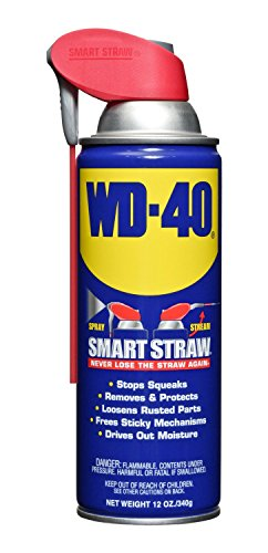 WD-40 10152 Multi-Use Product Spray with Smart Straw, 12 oz. (Pack of 12)