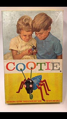 Cootie Bug Game (Vintage 1966 Cootie)