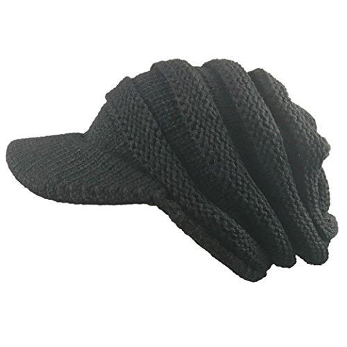Elaco Women Slouchy Oversize Knitting Beanie Cap Warm Winter Ski Hat - Caps Snapback Buy