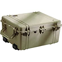 Pelican 1690 O.D. Green Watertight Transport Large Cases 1694 W/ Padded 1690-004-130 Od Green