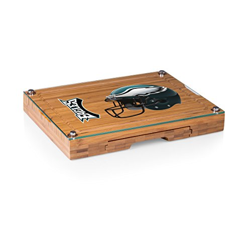 PICNIC TIME NFL Philadelphia Eagles Concerto 5-Piece Cheese Board Serving Set