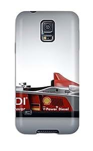 Galaxy S5 Case Cover Skin : Premium High Quality 2006 Audi R10 Tdi Grey White F Formula Sebring R Cars Audi Case