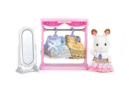 Calico Critters Dressing Area Set (80s Fancy Dress Characters)