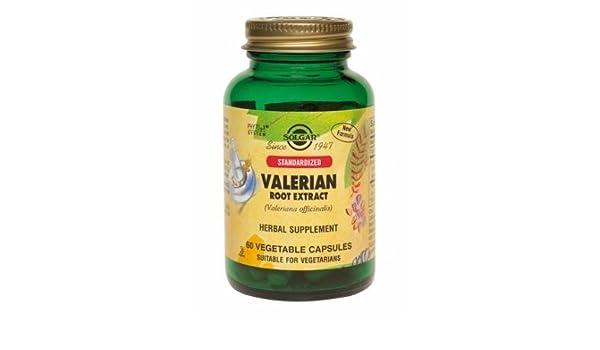 Solgar Valeriana Extracto de Raíz - 60 Cápsulas: Amazon.es: Salud y cuidado personal