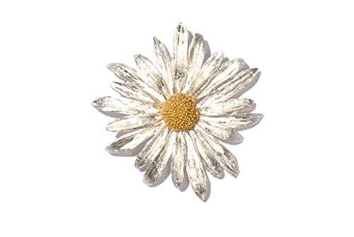 ''Daisy'' Pin/Brooch by Michael Michaud for Silver Seasons by Michael Michaud