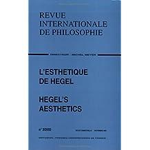 Revue internationale de philosophie, no 221: Esthétique de Hegel (L')
