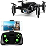 LBLA Mini Foldable RC Drone, FPV 2.4Ghz 6-Axis Gyro Altitude Hold RC Quadcopter with HD WiFi Camera