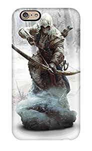 5197456K29703540 New Style Ratonhnhaketon Assassin's Creed 3 Premium Tpu Cover Case For Iphone 6