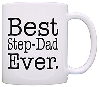 Gift for Stepdad Best Step-Dad Ever Father's Day Gift Coffee Mug Tea Cup