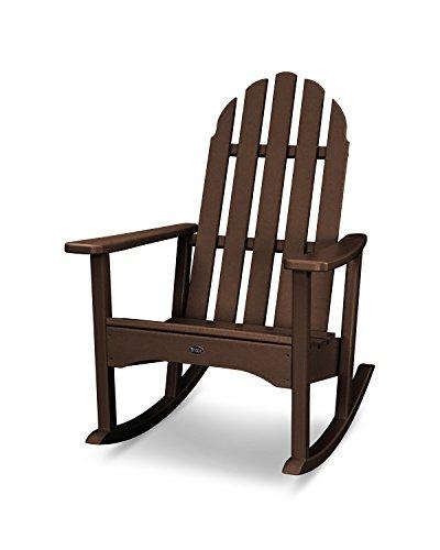 Trex Outdoor Furniture Cape Cod Adirondack Rocking Chair in Vintage Lantern