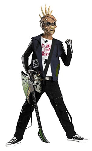 Boy's Punk Creep Outfit Rock Star Theme Child Halloween Fancy Costume, Tween (14-16) ()