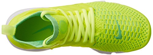 Nike Kvinnor W Luft Presto Flyknit Ultra Spänning Grön / Volt Tyg