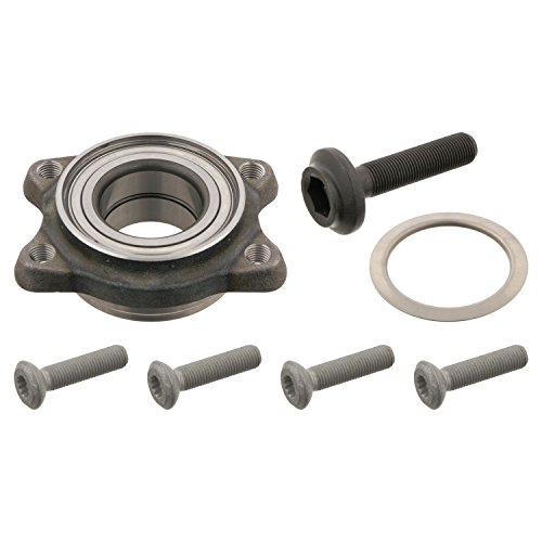 febi bilstein 29837 wheel bearing kit with screws and protective cap (front axle both sides) - Pack of 1 ()