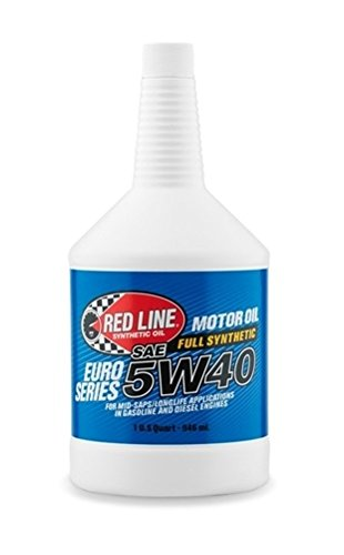 - Red Line 12404-12PK Euro-Series 5W40 Oil, 32. Fluid_Ounces, 12 Pack
