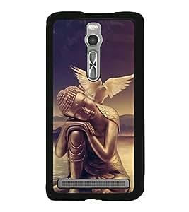 Fuson Designer Back Case Cover for Asus Zenfone 2 ZE551ML (Gautama Buddha Siddhartha Gautama Shakyamuni Buddha Buddhism Buddhists munish tatharaj)