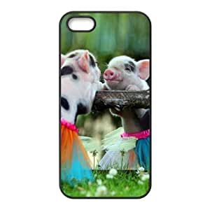 Customized case Of Cute Pig Hard Case for iPhone 5,5S
