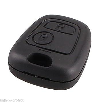 Peugeot Jongo – Carcasa llave mando a distancia 2 botones KS25 206 207 208 3008 307 407 607 Bipper Tepee Boxer Expert Partner
