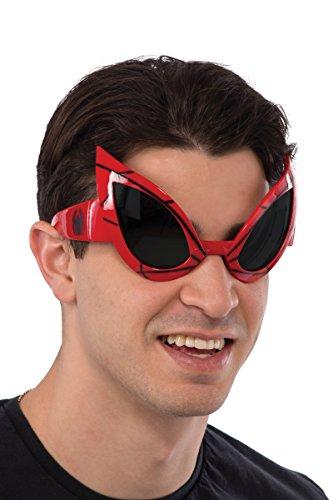 Rubie's Marvel Men's Spider-Man Costume Eyewear, Multi, One Size]()
