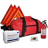 Essential All-in-One DOT OSHA ANSI Compliant Kit with Kidde 5BC Fire Extinguisher Model FA5G