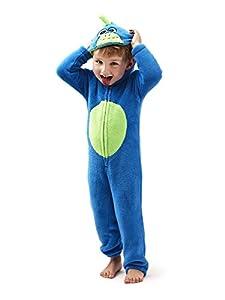 Nifty, Kids Novelty Fun Fleece Soft Warm Onesie Sleepsuit