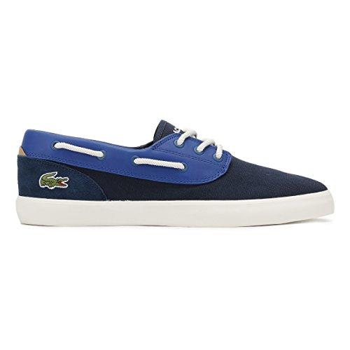 Lacoste Herren Jouer Deck 117 1 CAM Plattform-Schuhe, Blau Marine