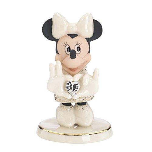 Lenox Classics Disney s Minnie Claus Figurine