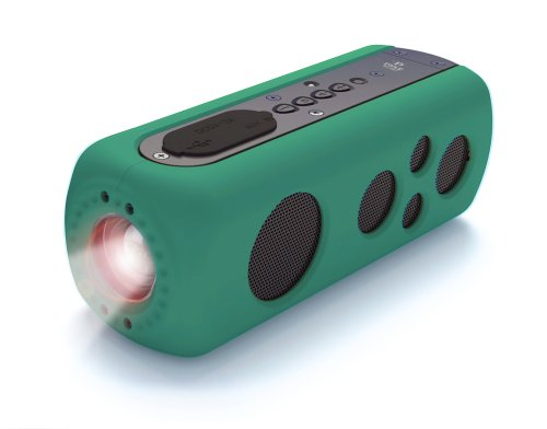 Pyle Waterproof Bluetooth Speaker Flashlight