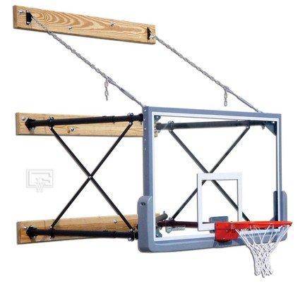 fold-up壁マウントバスケットボールシステムwith 42