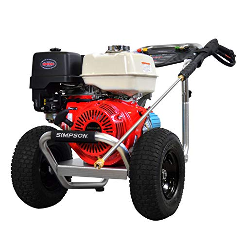4240 Aluminum 4.0 GPM Gas Pressure Washer with Honda GX390 OHV Engine, 4200 PSI ()