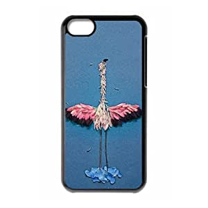 DDOUGS The Ostrich Customised Cell Phone Case for Iphone 5C, Wholesale The Ostrich Case