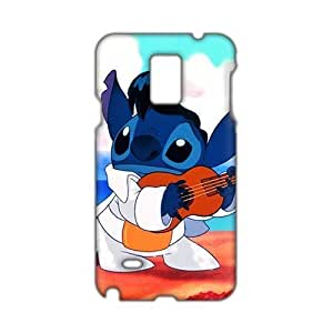 Angl 3D Case Cover Cartoon Lilo & Stitch Phone Samsung Galxy S4 I9500/I9502