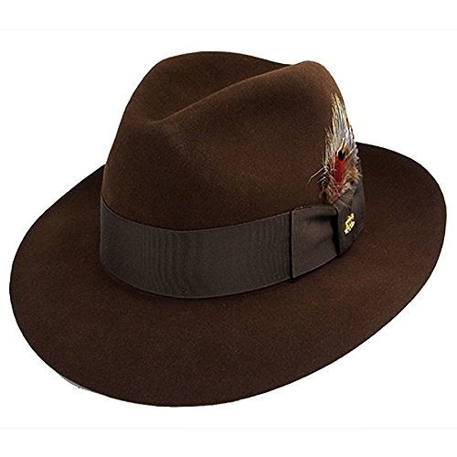 88e04295826f9 Galleon - Stetson Men s Sttson Temple Royal Deluxe Fur Felt Hat ...