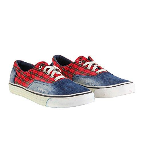 Diesel, Sneaker donna blu blau 38