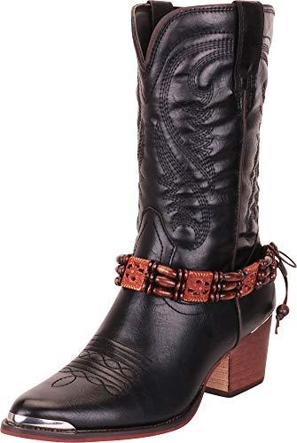 Ladies cowboy boots 8 b