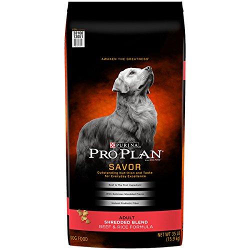 R Adult Shredded Blend Beef & Rice Formula Dry Dog Food - (1) 35 lb. Bag ()