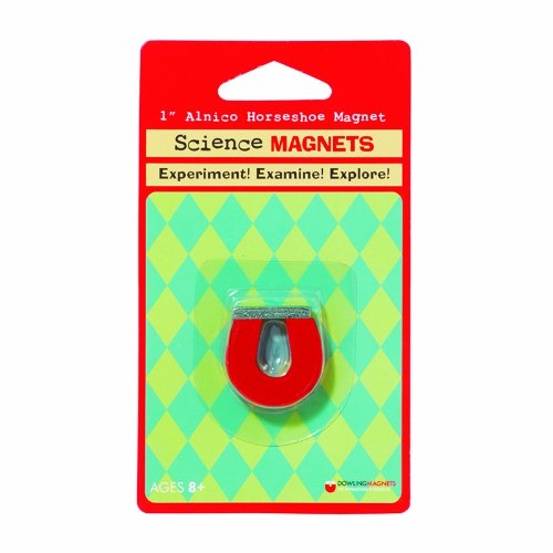 Dowling Magnetics Small Horseshoe Magnet   1 Inch