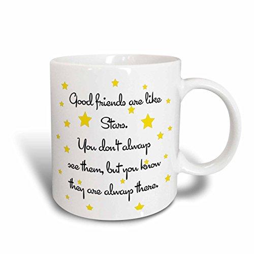 3dRose mug 193474 2 Friends Ceramic 15 Ounce