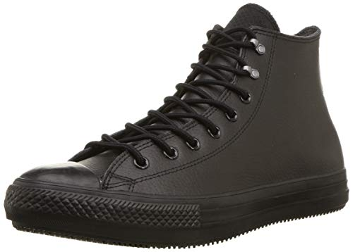 Converse Chuck Taylor All Star Winter First Steps Boot Fashion, Black/Black/Black, 7.5 M US