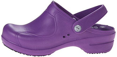 Women''s Purple purple Clogs Sanita Aero 32 stride wxfZnO7
