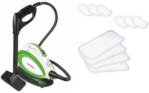 Pack Polti Vaporetto Handy25 Plus (Generador de vapor) + Kit 4 paños y 6 fundas: Amazon.es: Hogar