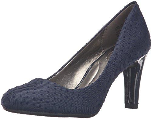 Bandolino Women's Lantana Dress Pump, Navy Swiss Dot, 8 M US - Women's Navy Blue Dress Shoes: Amazon.com